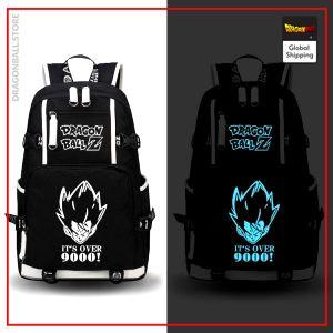 Dragon Ball Z Backpack Over 9000 Fluorescent Default Title Official Dragon Ball Z Merch