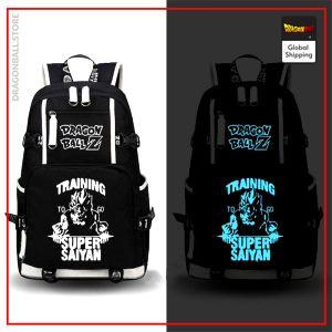 Dragon Ball Z Backpack  Training SSJ Fluorescent Default Title Official Dragon Ball Z Merch