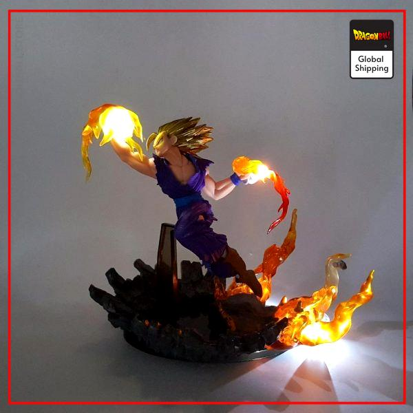 Dragon Ball Z Gohan Super Saiyan 2 LED Figure Default Title Official Dragon Ball Z Merch