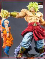 Collector Figure Broly vs Goku Premium version Official Dragon Ball Z Merch