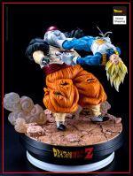 Collector Figure Vegeta vs C-19 Default Title Official Dragon Ball Z Merch