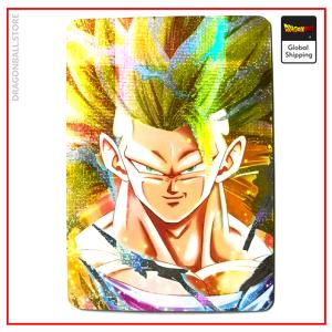 Dragon Ball Z Card Goku Super Saiyan 3 Version 1 Official Dragon Ball Z Merch