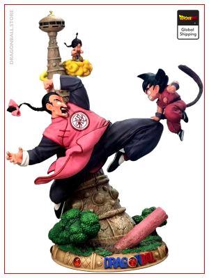 Collector Figure Goku Petit vs Tao Pai Pai Default Title Official Dragon Ball Z Merch