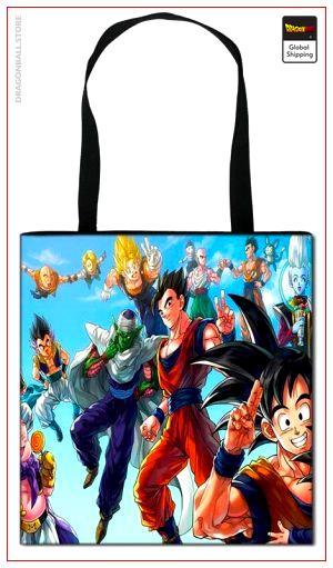 Dragon Ball Z Tote Bag Fighters Default Title Official Dragon Ball Z Merch