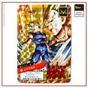 Dragon Ball Z Card Majin Vegeta Default Title Official Dragon Ball Z Merch