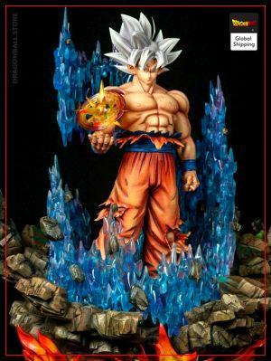 Collector Figure Goku Ultra Instinct Default Title Official Dragon Ball Z Merch
