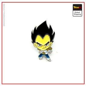 Dragon Ball Z pin Vegeta Default Title Official Dragon Ball Z Merch