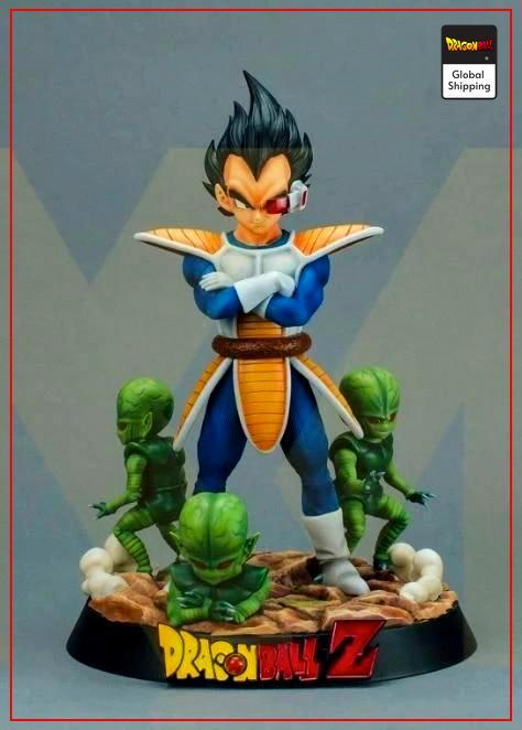 Collector Figure Prince Saiyan Default Title Official Dragon Ball Z Merch