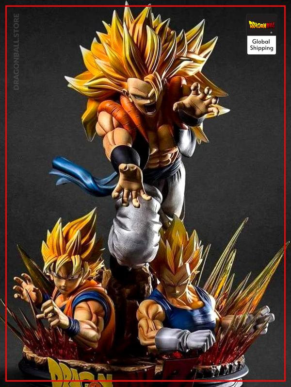 Fusion Saiyan Collector Figure Default Title Official Dragon Ball Z Merch