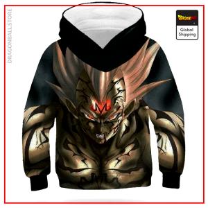 DBZ Kids Sweatshirt Majin Vegeta Black / 4 YEARS Official Dragon Ball Z Merch