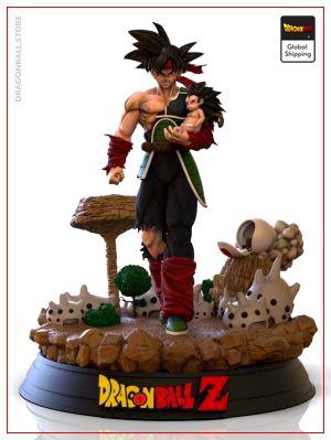 Collector Figure Bardock Default Title Official Dragon Ball Z Merch