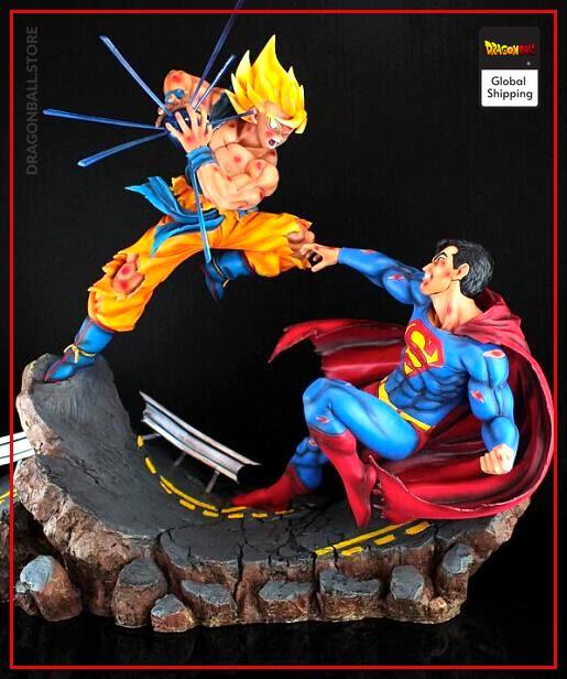 Collector Figure Goku vs Superman Default Title Official Dragon Ball Z Merch