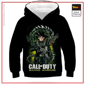 DBZ Kids Sweatshirt Call Of Duty Brown / 4 YEARS Official Dragon Ball Z Merch
