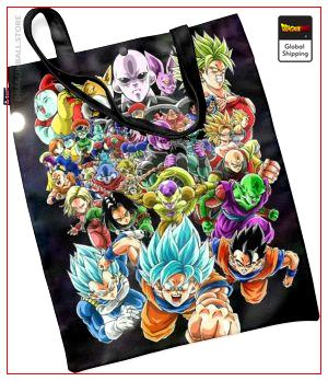 Dragon Ball Tote Bag Z-Fighters Super Default Title Official Dragon Ball Z Merch