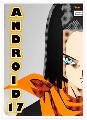 Dragon Ball Z Poster C-17 (Flat Design) 35 x 50 cm / 7 Official Dragon Ball Z Merch