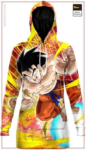 Sweat dress DBZ Goku Attack 6 / XS Official Dragon Ball Z Merch