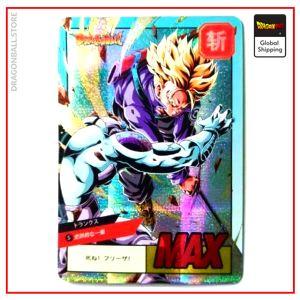Dragon Ball Z Card Trunks vs Freezer Default Title Official Dragon Ball Z Merch