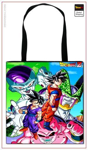 Dragon Ball Z Tote Bag Villains Default Title Official Dragon Ball Z Merch