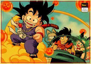 Dragon Ball Poster  Goku Magic Cloud Big Official Dragon Ball Z Merch