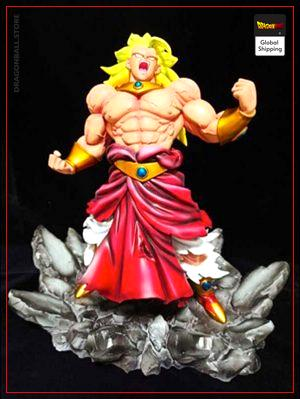 Collector Figure Broly Super Saiyan Default Title Official Dragon Ball Z Merch