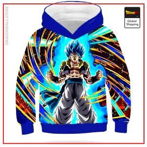 DBZ Kids Sweatshirt Gogeta Blue MULTI / 4 YEARS Official Dragon Ball Z Merch