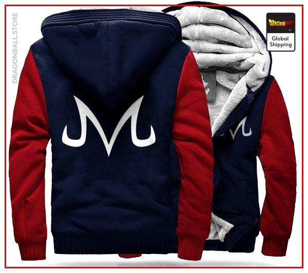 DBZ Fleece Jacket Majin Saga red / M Official Dragon Ball Z Merch