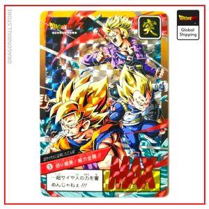 Dragon Ball Z Card Saiyans Default Title Official Dragon Ball Z Merch