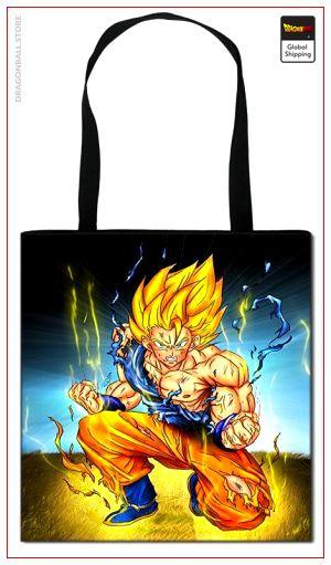 Dragon Ball Z Tote Bag Saiyan Rage Default Title Official Dragon Ball Z Merch
