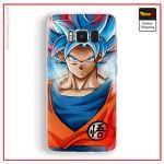 Samsung DBS Case Blue Kaio-ken Samsung S6 Official Dragon Ball Z Merch
