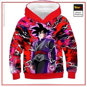 DBZ Kids Sweatshirt Goku Black Gray / 4 YEARS Official Dragon Ball Z Merch