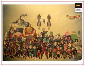 Dragon Ball Poster Super Saga Default Title Official Dragon Ball Z Merch