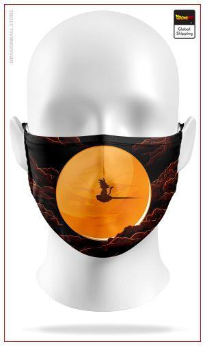 Dragon Ball Mask Magic Cloud mask / Adult Official Dragon Ball Z Merch