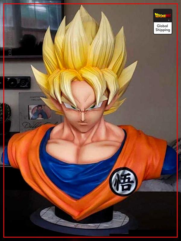 Collector Figure Goku Bust Default Title Official Dragon Ball Z Merch