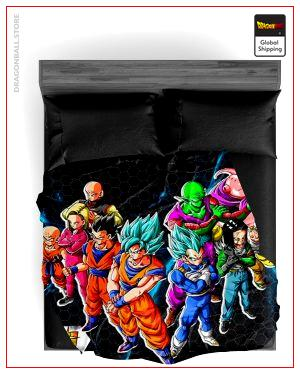 Dragon Ball Super Blanket Crew 130x150cm Official Dragon Ball Z Merch