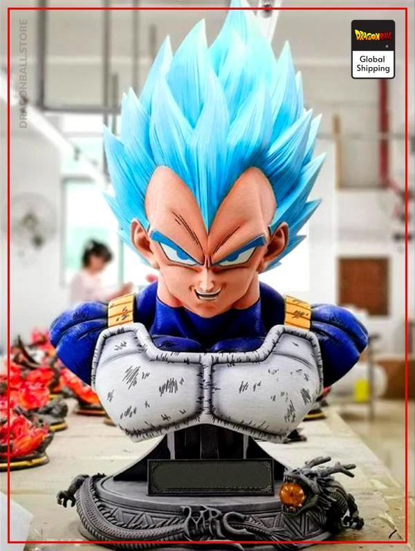 Collector Figure Vegeta Blue Bust Default Title Official Dragon Ball Z Merch