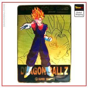 Dragon Ball Z Card Vegeto SSJ Default Title Official Dragon Ball Z Merch