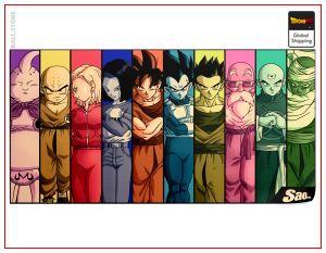 Dragon Ball Z Poster Z-Team Default Title Official Dragon Ball Z Merch