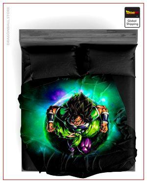 Dragon Ball Z Blanket Broly Warrior 33 / 150X200cm Official Dragon Ball Z Merch