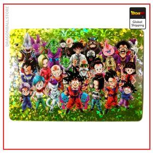 Dragon Ball Z Card Characters Default Title Official Dragon Ball Z Merch