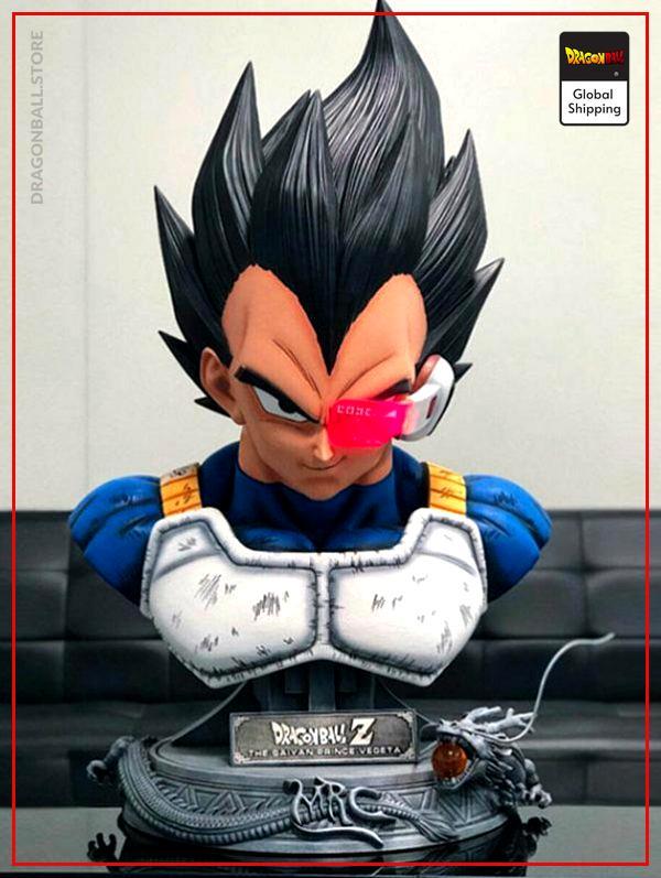 Collector Figure Vegeta Bust Default Title Official Dragon Ball Z Merch