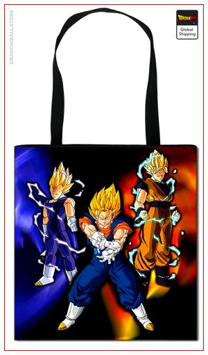 Dragon Ball Z Tote Bag Fusion Saiyan Default Title Official Dragon Ball Z Merch