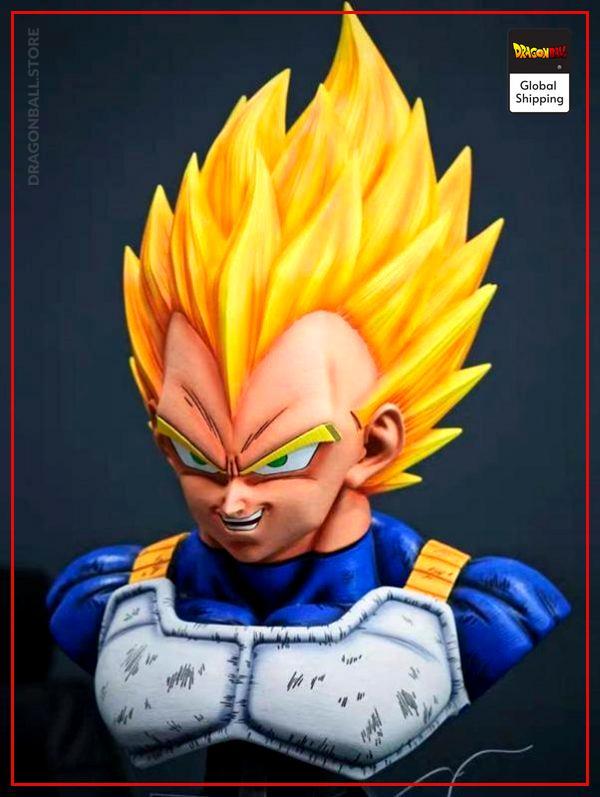 Collector Figure  Vegeta Super Saiyan Bust Default Title Official Dragon Ball Z Merch