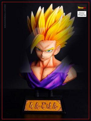 Collector Figure Gohan SSJ2 Default Title Official Dragon Ball Z Merch