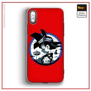 DB iPhone Case Goku Small iPhone 5 & 5S & SE Official Dragon Ball Z Merch