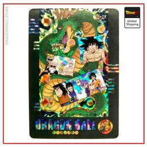 Dragon Ball Z Card Crystal Balls Version 1 Official Dragon Ball Z Merch