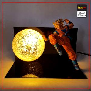 Dragon Ball Z LampGoku Saiyan Warrior Default Title Official Dragon Ball Z Merch