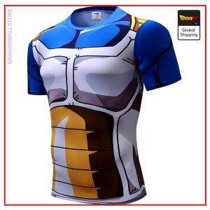 Compression T-Shirt  Prince Vegeta S Official Dragon Ball Z Merch