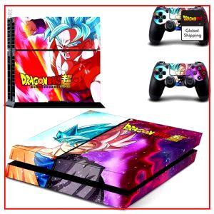 PS4 Dragon Ball S Stickers  Goku Black & Pink (SLIM) Default Title Official Dragon Ball Z Merch