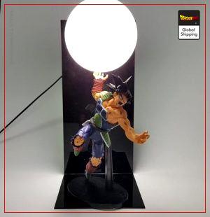 Dragon Ball Z LampBardock Rage Saiyan Default Title Official Dragon Ball Z Merch