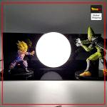 Dragon Ball Z Final Confrontation Lamp Default Title Official Dragon Ball Z Merch